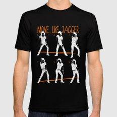 Move Like Jagger 2 MEDIUM Mens Fitted Tee Black