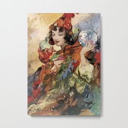 """""""The Oracle"""" by Charles Robinson Metal Print"""