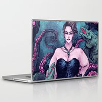 ursula Laptop & iPad Skins featuring Ursula by Angela Rizza