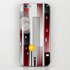Moving On Up iPhone & iPod Skin