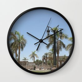 Temple of Luxor, no. 22 Wall Clock