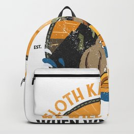 Sloth Kayaking, Sloth Kayak Team Backpack
