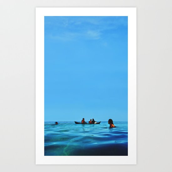 Island Sundays Art Print