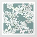 Papercut snowdrops by camcreative