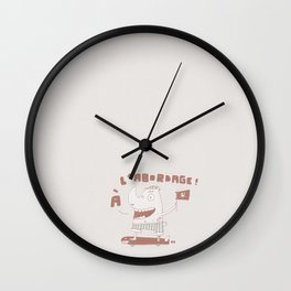 RhinoC Wall Clock