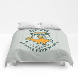 IIFYM (If It Fits Your Mouth) Comforters