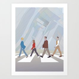 Inception Road Art Print