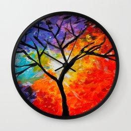 Healing Light Wall Clock