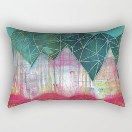 Mountain Winter Solstice Rectangular Pillow