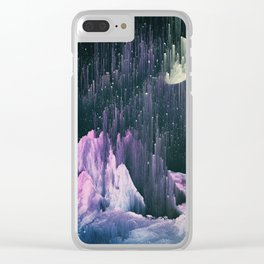 Silent Skies Clear iPhone Case