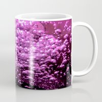 bubble Mugs featuring Bubble by Louise Machado