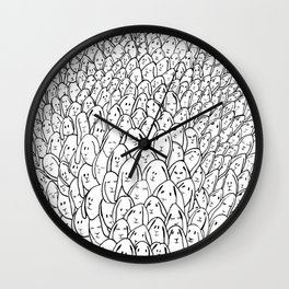 Bunnies Wall Clock