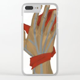 Hawke's Favor Clear iPhone Case