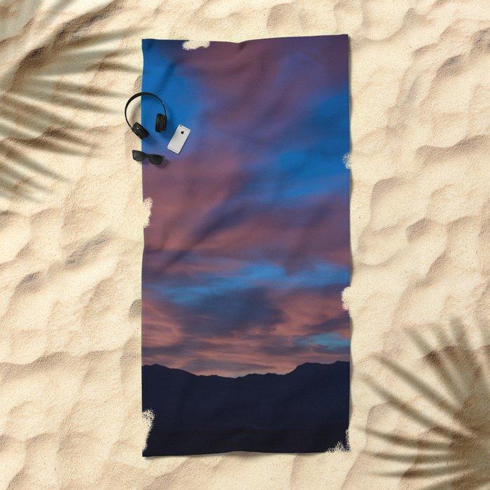 SW Rose Serenity Sunrise Beach Towel