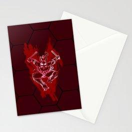 TMNT Rock: Raph Stationery Cards