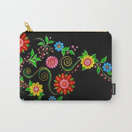 Ukrainian Flowers Carry-All Pouch