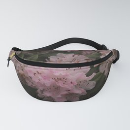 Pink Rhododendrons in Spring Fanny Pack