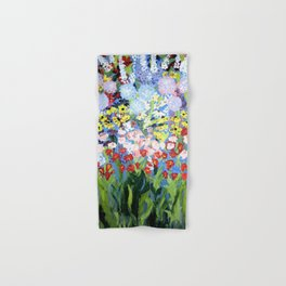 then comes spring Hand & Bath Towel