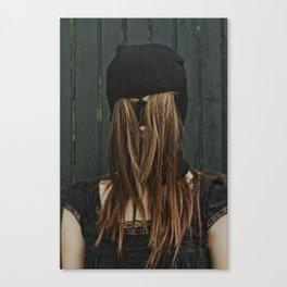 Hairy Face Canvas Print