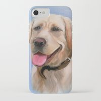 labrador iPhone & iPod Cases featuring Labrador by OLHADARCHUK