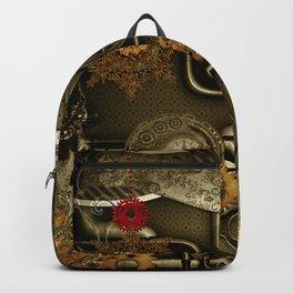 Wonderful noble steampunk design Backpack