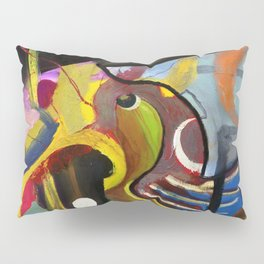 Circus Juice (oil on canvas) Pillow Sham