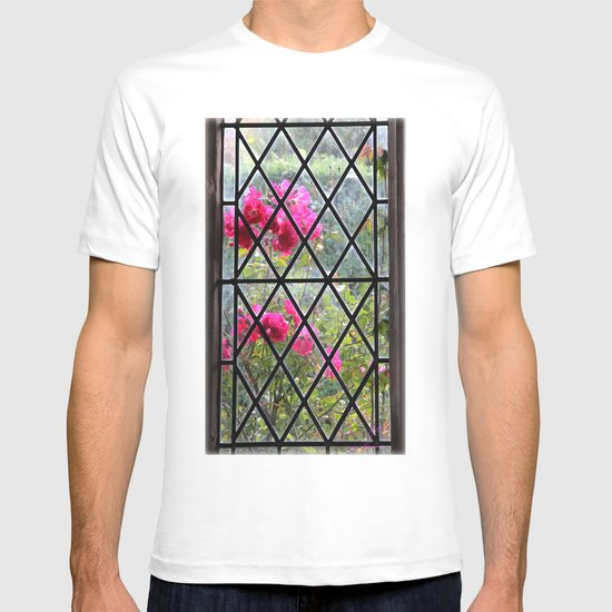 Stained glass window by nature T-shirt