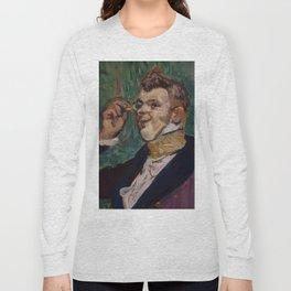 """Henri de Toulouse-Lautrec """"Henri Samary (as Raoul de Vaubert...)"""" Long Sleeve T-shirt"""