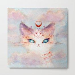 Stargazer Cat : Vision Seeker Metal Print
