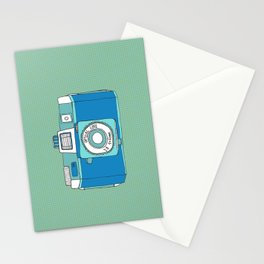 Holga Camera in Blue Stationery Cards