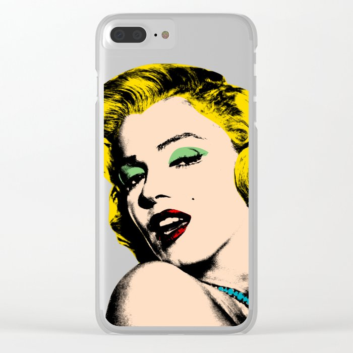 Marilyn Clear iPhone Case