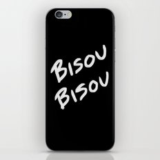 Bisou Bisou Kiss Kiss iPhone & iPod Skin