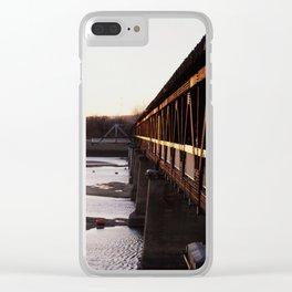 Bridges 3 Clear iPhone Case
