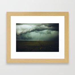 Tornado Alley (Color) Framed Art Print