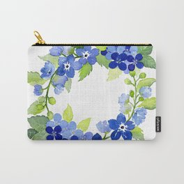French Blues Carry-All Pouch