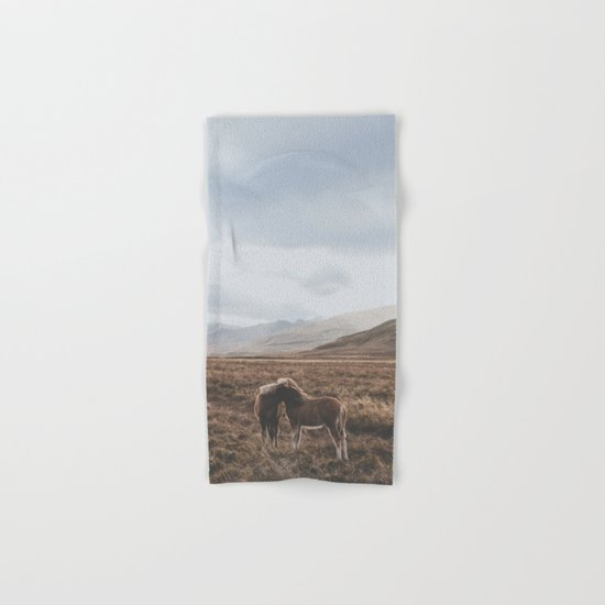 Iceland I Hand & Bath Towel