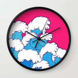 As the waves roll in Wall Clock