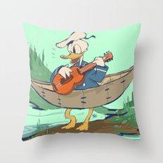 Donald's Vacation Throw Pillow