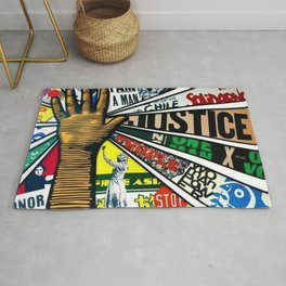 African American Center for Civil and Human Rights Mural Rug