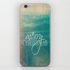 Merry Christmas Fairytale Design iPhone & iPod Skin