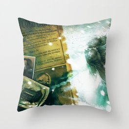 Numb Book 1 Zombie Concept 1 Throw Pillow