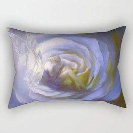 Fairy tale fantasy - purple rose Rectangular Pillow