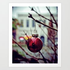 Street ornament Art Print