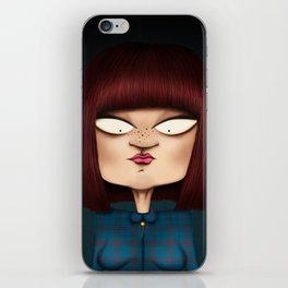 Mrs. Garcia iPhone Skin