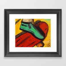 The Ride! Framed Art Print