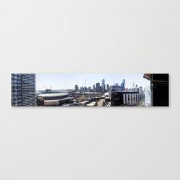 Docklands Panoramic  Canvas Print