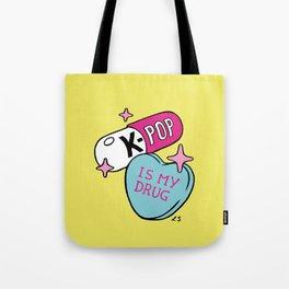 K-POP is my Drug Tote Bag