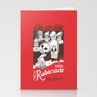 casablanca Stationery Cards featuring Rubacava by Hoborobo