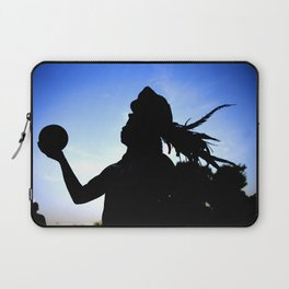 Mayan Ball Player Laptop Sleeve
