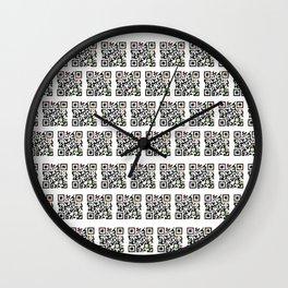 Quick Response Wall Clock
